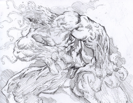 Creature Sketch.. Pencils